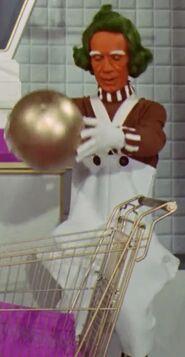 Rudy Borgstaller as Oompa Loompa