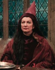 Hazel Showham as Hogwarts Teacher