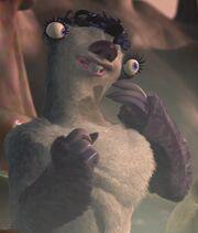 Jane Krakowski as Female Sloth (Voice)
