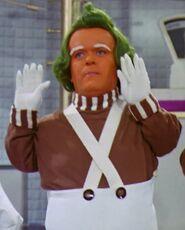 George Claydon as Oompa Loompa