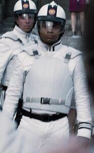 Dwayne Boyd as Peacekeeper 1