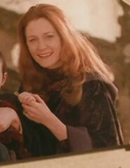 Geraldine Somerville as Lily Potter (Archive Footage) (COS)