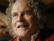 Ian Holm as Old Bilbo (BOTFA)