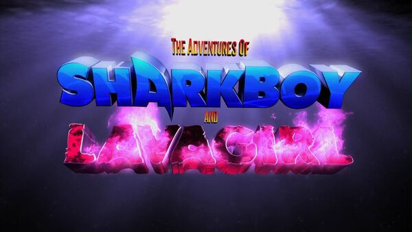The Adventures of Sharkboy and Lavagirl in 3-D Logo
