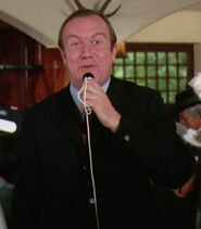 Michael Gahr as Reporter in Germany