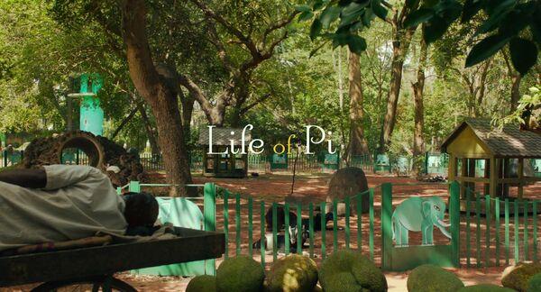 Life of Pi Logo