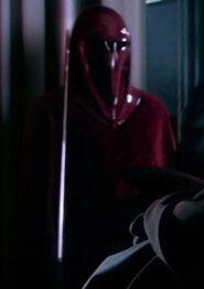 Unknown as Emperor's Royal Guard 1