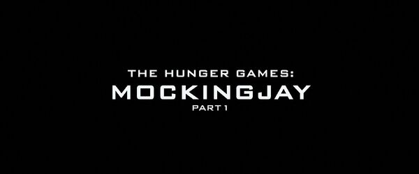 The Hunger Games - Mockingjay - Part 1 Logo