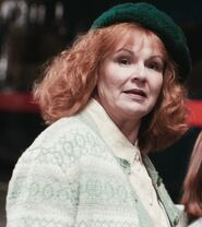 Julie Walters as Mrs. Weasley (PS)