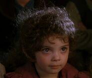 Katie Jackson as Cute Hobbit Child