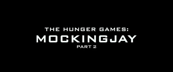 The Hunger Games - Mockingjay - Part 2 Logo