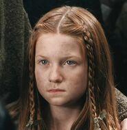 Bonnie Wright as Ginny Weasley (COS)
