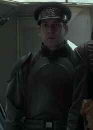 Mike Savva as Naboo Lieutenant