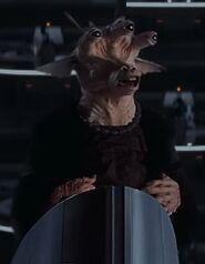 Marc Silk as Voice of Aks Moe (Voice)