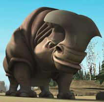 Cedric the Entertainer as Rhino (Voice)