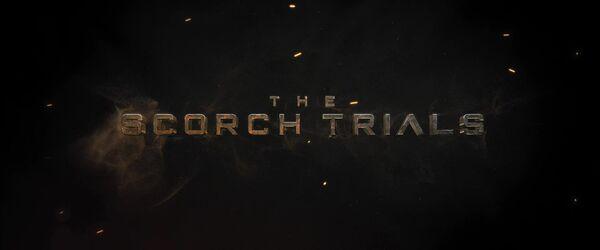 Maze Runner - The Scorch Trials Logo