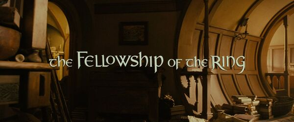 The Fellowship of the Ring Logo (Extended Edition)