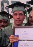 Gary Lane as Graduation - Chess Club Twin