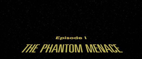 The Phantom Menace Logo