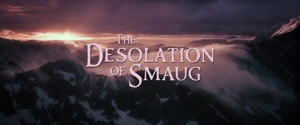 The Desolation of Smaug Logo