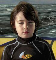 Rebel Rodriguez as Sharkboy (Age 5)