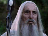 Christopher Lee as Saruman (FOTR)