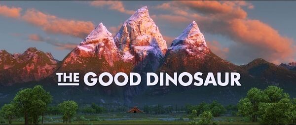 The Good Dinosaur Logo