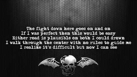 Avenged Sevenfold - Crossroads Lyrics on screen Full HD