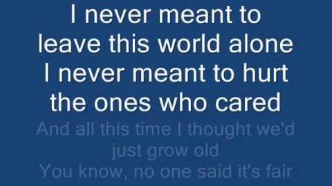 Avenged Sevenfold-Danger Line Lyrics
