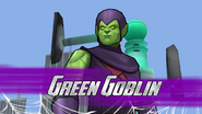Green Goblin arrives as a boss battle