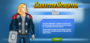 Character Recruited! Thor