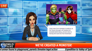 Young Avengers Mini Event Newscast