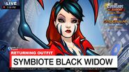 World News Symbiote Black Widow