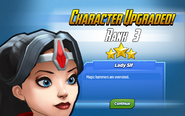 Character Upgraded! Sif Rank 3
