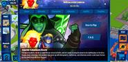 Cosmic Cataclysm Event tab