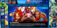 Marvel Rising Event tab