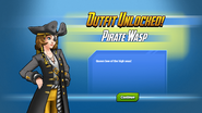 Outfit Unlocked Pirate Wasp