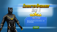Character Upgraded! Black Panther Rank 5
