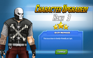 Character Upgraded! Crossbones Rank 3