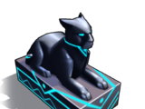 Black Panther Statue (decoration)