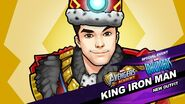 New Outfit Inhumans Event King Iron Man