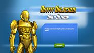 Outfit Unlocked Gold Ultron