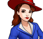 Peggy Carter Rank 3 icon