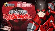 Returning Outfit Armored Daredevil