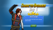 Character Upgraded! Winter Soldier Rank 5