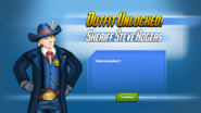 Outfit Unlocked! Sheriff Steve Rogers