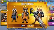 Rocket Raccoon Ranks Ad
