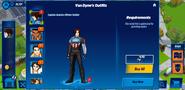 Captain America Winter Soldier Van Dynes