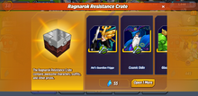 Ragnarok Resistance Crate