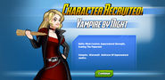 Character Recruited! Vampire by Night